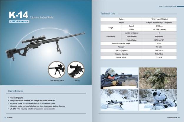 S & T Motiv K14 Sniper Rifle