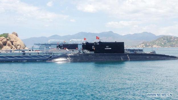Vietnam's Kilo-class submarines