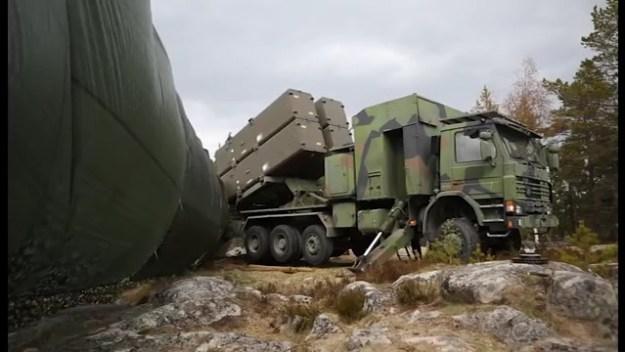 Swedish Navy Truck-Based RBS15 Coastal Defence Batteries