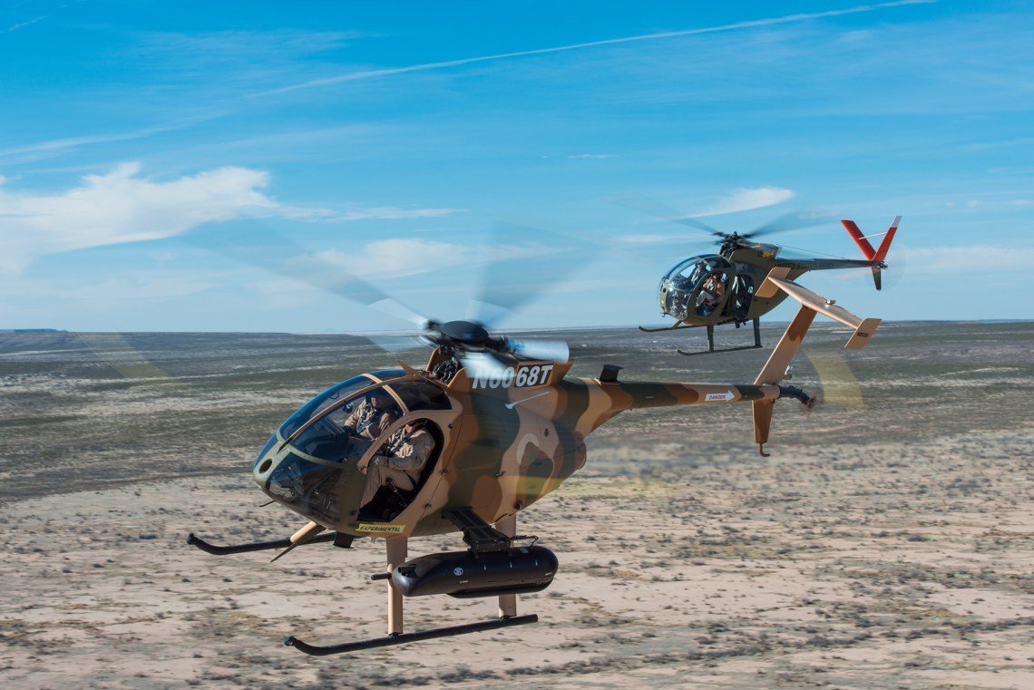 Afghan Air Force MD 530F Cayuse Warrior