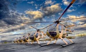 Afghan Air Force MD 530F Cayuse Warrior