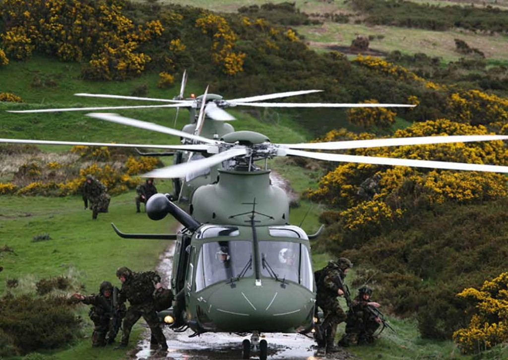 Leonardo AW139M Medium-lift Military Helicopter