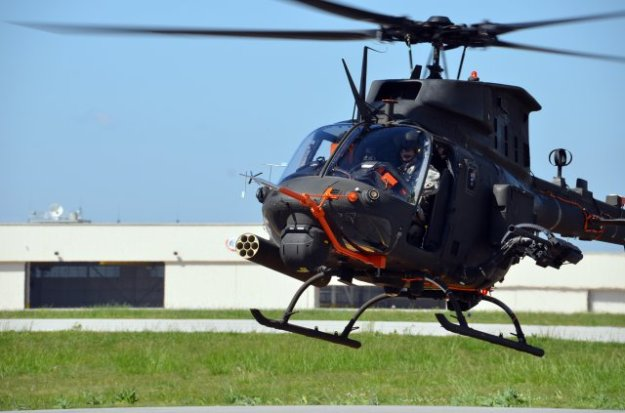 Bell OH-58F Kiowa Observation Helicopter