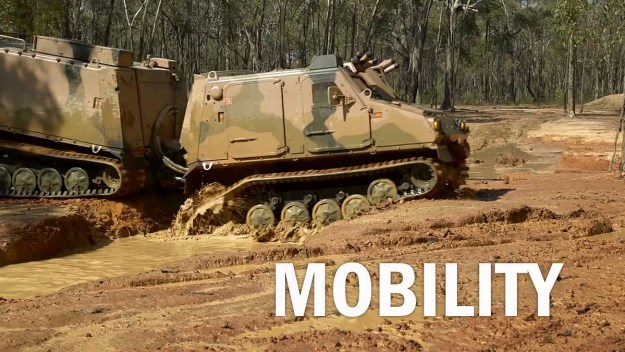 BvS10 Goanna All-Terrain Amphibious Vehicle