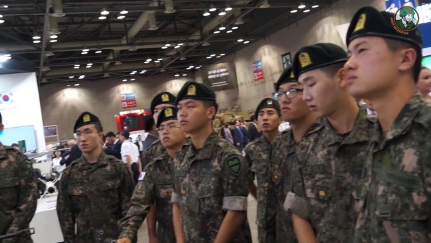 DX Korea 2018: Foreign Exhibitors and armoured vehicles by Daeji and KIA