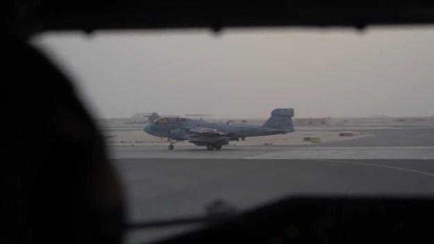 EA-6B Prowler Aerial Refueling