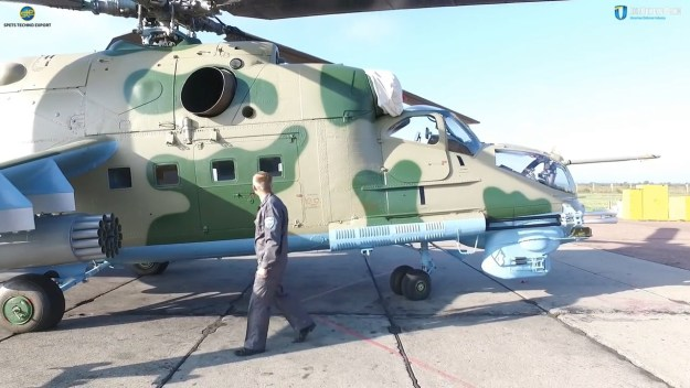 Mi-24PU-1 Attack Helicopter