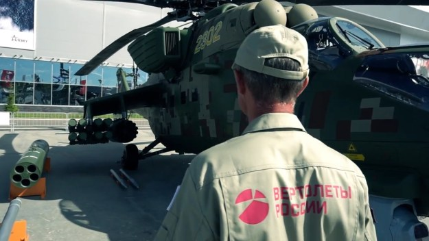 Russian Helicopter Presents Modern Helicopters at Army 2018