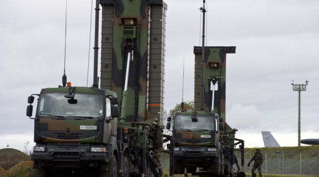 SAMP/T Mamba Surface-to-air Defense Missile System