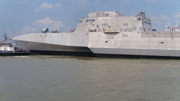 USS Cincinnati (LCS-20) Independence-class littoral combat ship