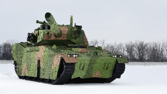 BAE Systems M8 Buford Armored Gun System