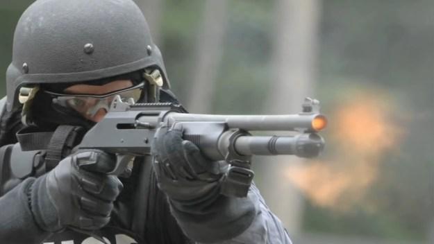 Benelli M4 Combat Shotgun