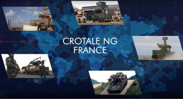 Crotale NG Short-Range Air Defense System
