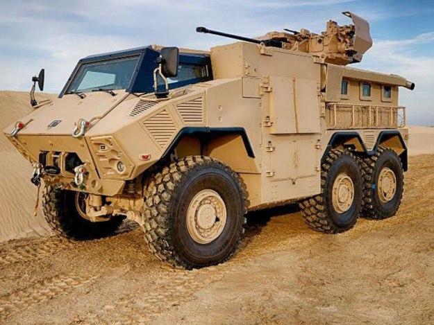 JAIS 6x6 MRAP Military Vehicle