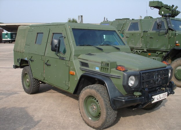Enok Light Armoured Patrol Vehicle (LAPV)