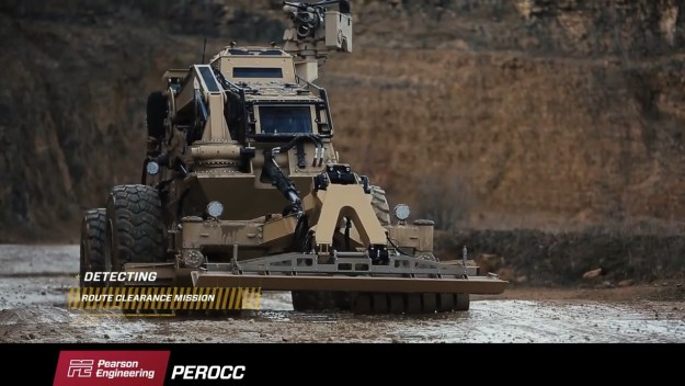 Pearson Engineering Route Opening and Clearing Capability (PEROCC)