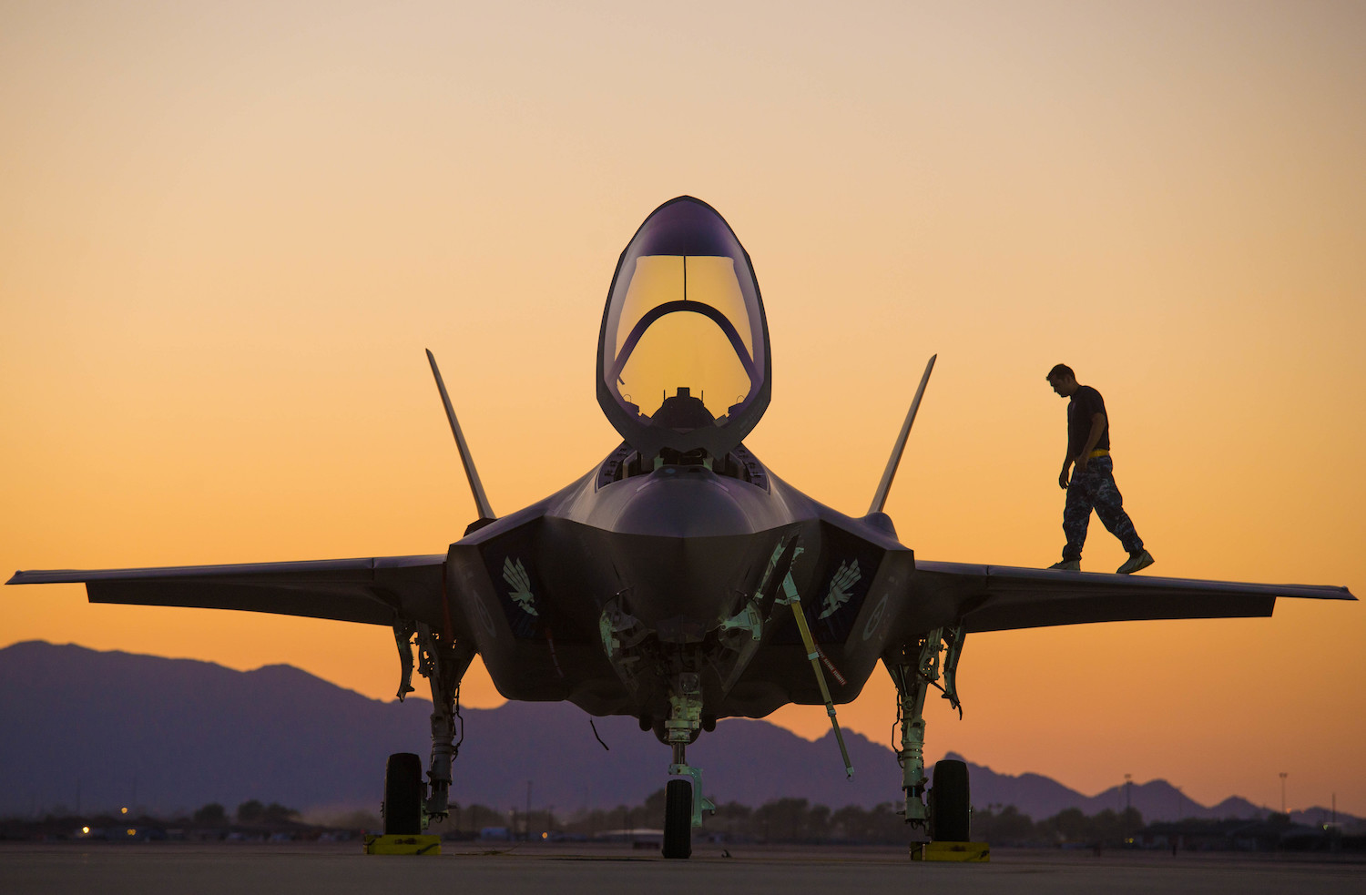 Lockheed Martin F-35 stealth fighters