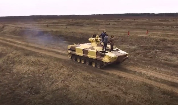 Prokhod Armour-plated Minesweeping Robot