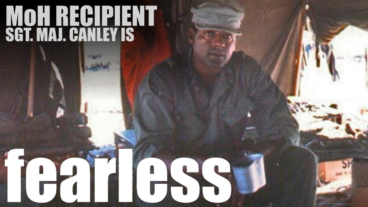 Sgt. Maj. John Canley - Fearless Marine to be Awarded Medal of Honor