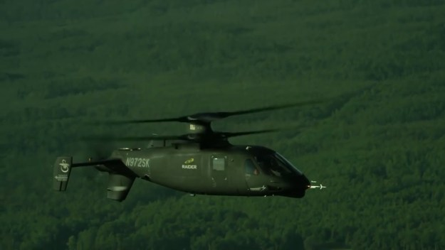 Sikorsky S-97 Raider Hits 200 Knots