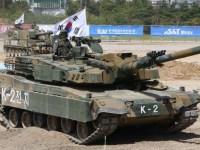 South Korea K2 Black Panther K1A1 main battle tank K1 AVLB review at DX Korea 2018