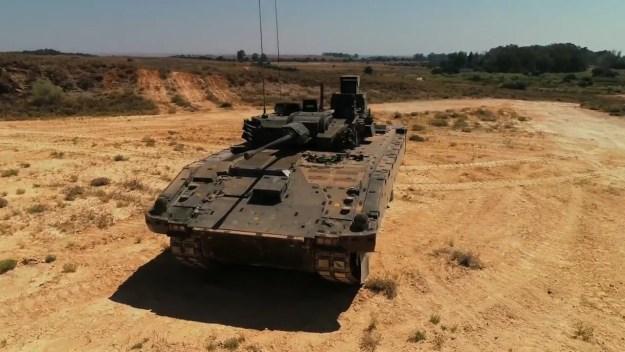 General Dynamics AJAX Hot-Weather Trials