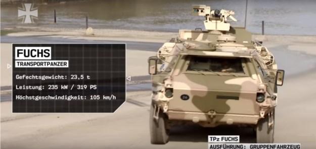 German Army - TPz (Transportpanzer) Fuchs 2