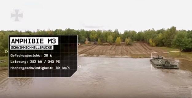 German Army - M3 Amphibious Rig