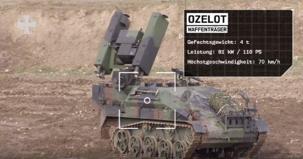 German Army - Wiesel 2 Air Defence Weapon Carrier (Ozelot)