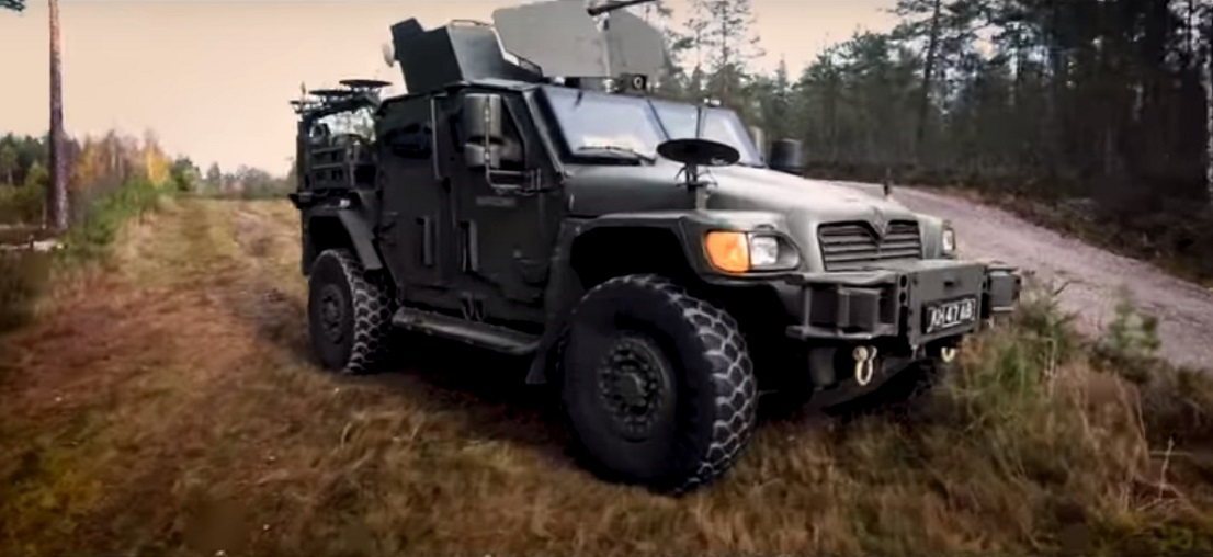 Husky Tactical Support Vehicle