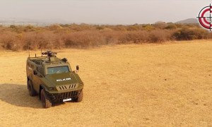 Milkor 4×4 Armoured Personnel Carrier
