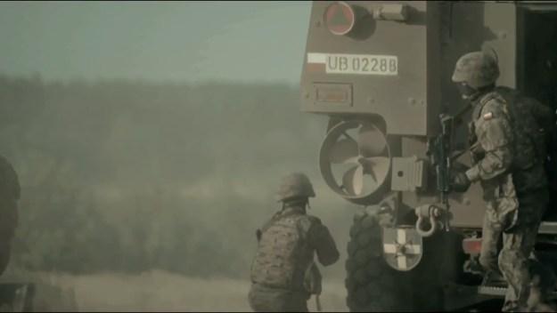 Polish Land Forces KTO Rosomak