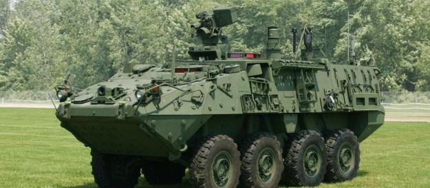Stryker Fire Support Vehicle (FSV)