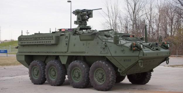 Stryker Reconnaissance Vehicle (RV)