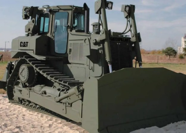 Cat Armored D7R-II Bulldozer