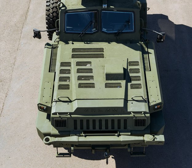 Arlan Armored Wheeled Vehicles