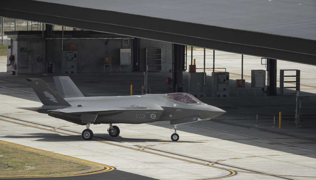 Australia's first F-35s Arrive Home to Royal Australian Air Force Williamtown Heralding