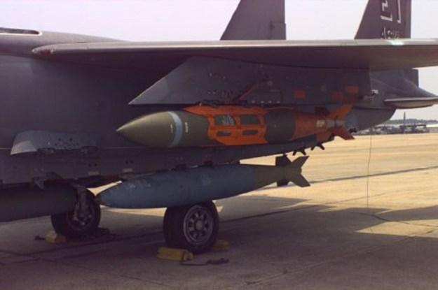 BLU-109 aboard F-15E
