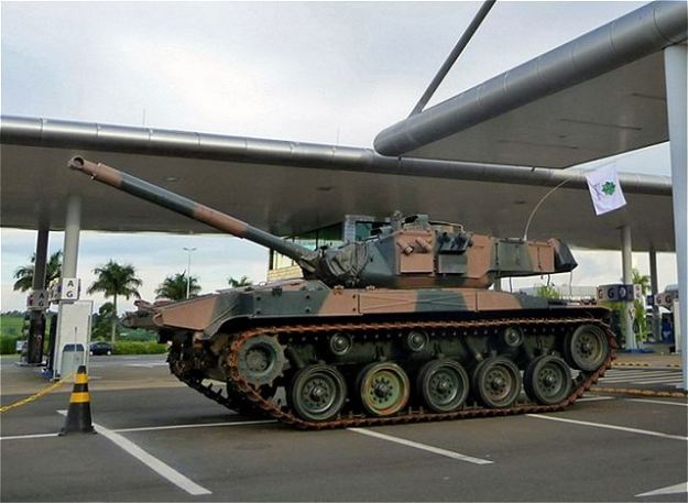 M41C light tank of Brazilian army