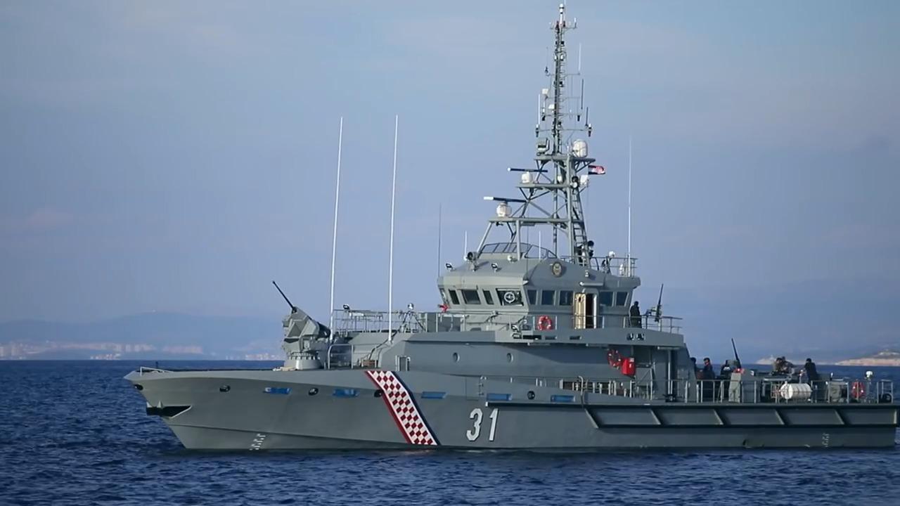 Croatian Navy Omiš (OOB-31) Inshore Patrol Boat