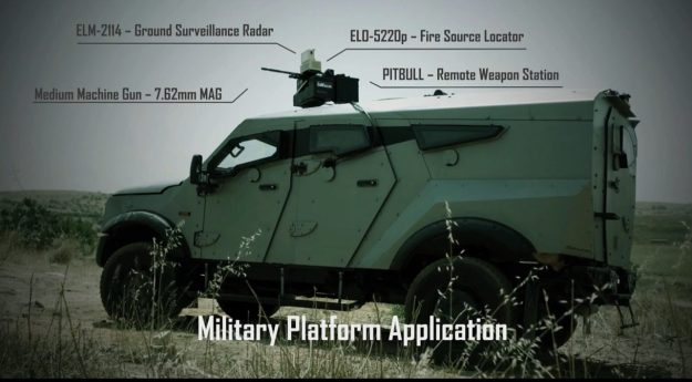 ELTA ELI-3312 Target Acquisition and Cueing System