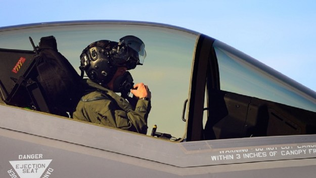 F-35 Gen III Helmet Mounted Display (HMD)