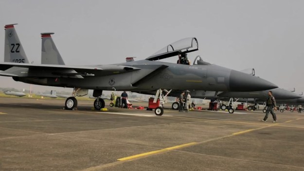 India and US airforces begin exercise Cope India 2019
