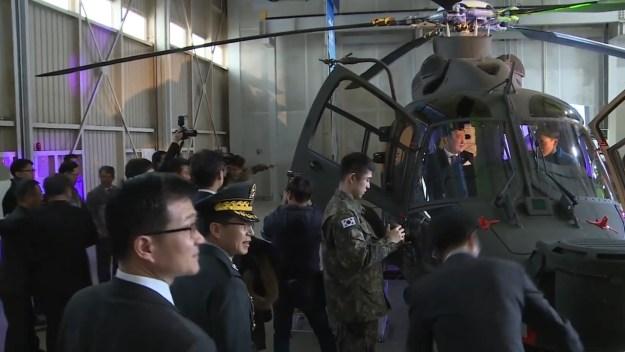 Korea Aerospace Industries (KAI) unveils Light Armed Helicopter (LAH)