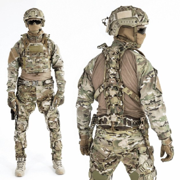 Mawashi Uprise Tactical Exoskeleton
