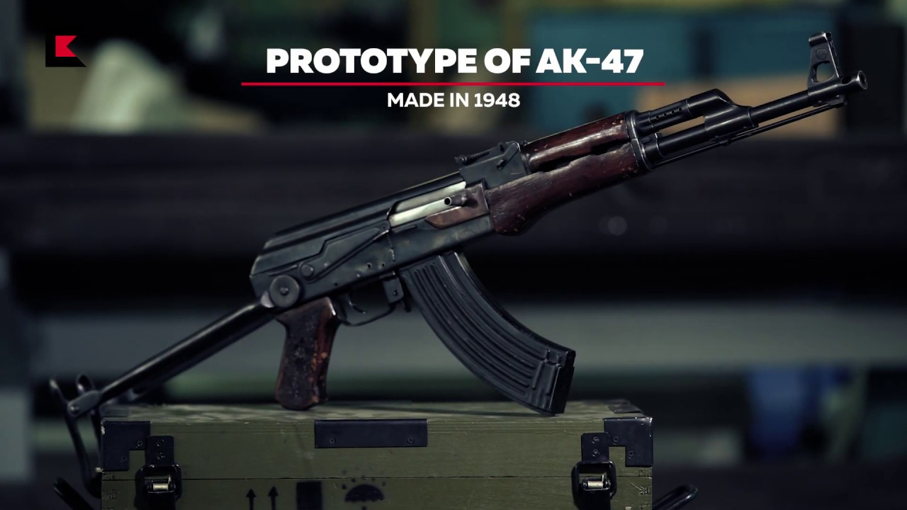 Prototype of AK-47 made in 1948