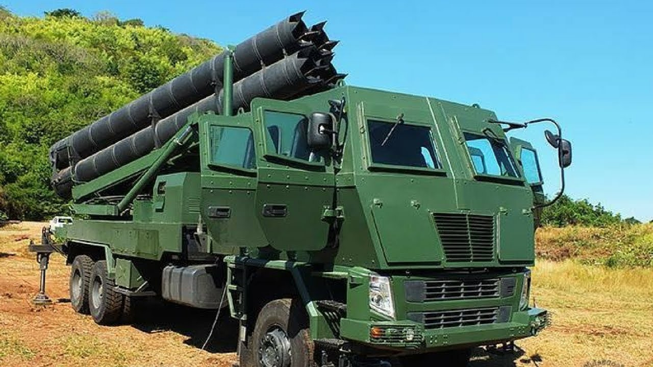 Royal Thai Army DTI-1 Multiple Rocket Launcher
