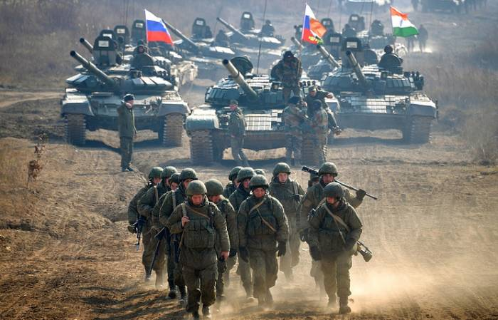 Russia and India conclude joint exercise Indra 18