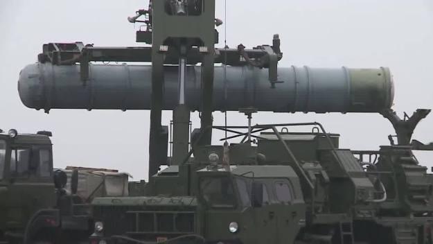 S-400 Triumf long-range air defense tested in Kapustin Yar