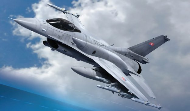 Slovakia Signs €1.6-bn Deal on Purchase of 14 Lockheed Martin F-16V